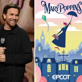 Ewan, Mary Poppins, and Hilary D23 Expo