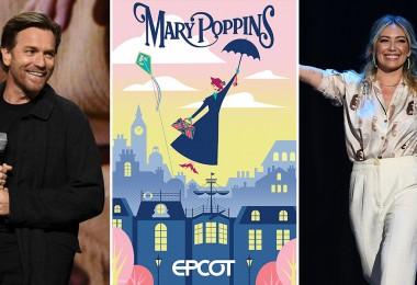 Ewan, Mary Poppins, and Hilary D23 Expo