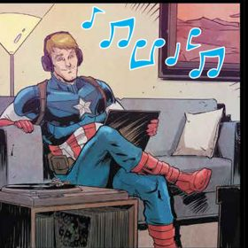 Captain America Joywave Marvel Comic Collaboration