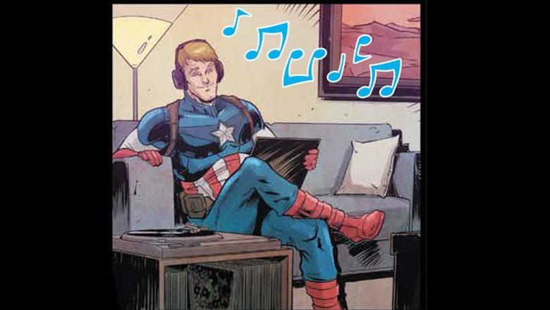 Captain America Joywave Marvel Comic Collaboration
