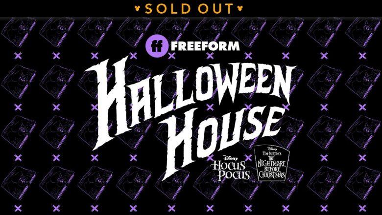 Freeform Halloween house