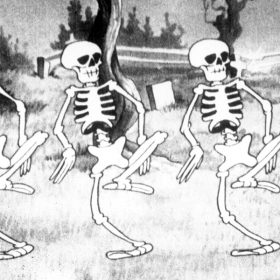 Skele-brate 90 Years of Silly Symphonies with The Skeleton Dance