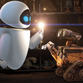 Wall-E and Eve Iris