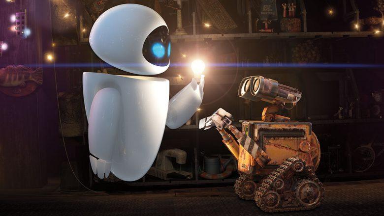 Wall-E and Eve Iris