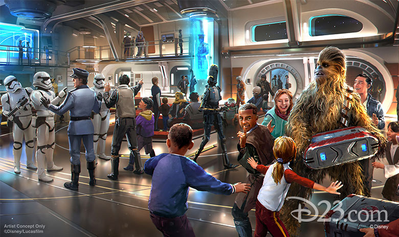 Star Wars: Galactic Starcruiser Concept