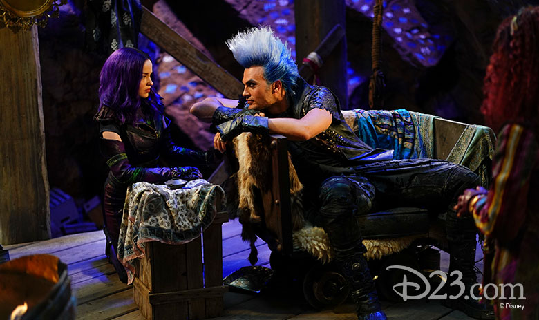 Bringing Down the Barrier Behind the Scenes of Descendants