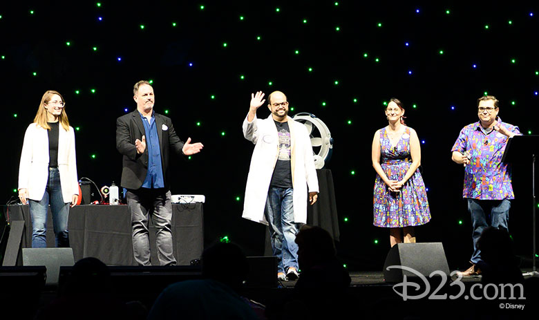 Haunted Mansion 50th panel D23 Expo