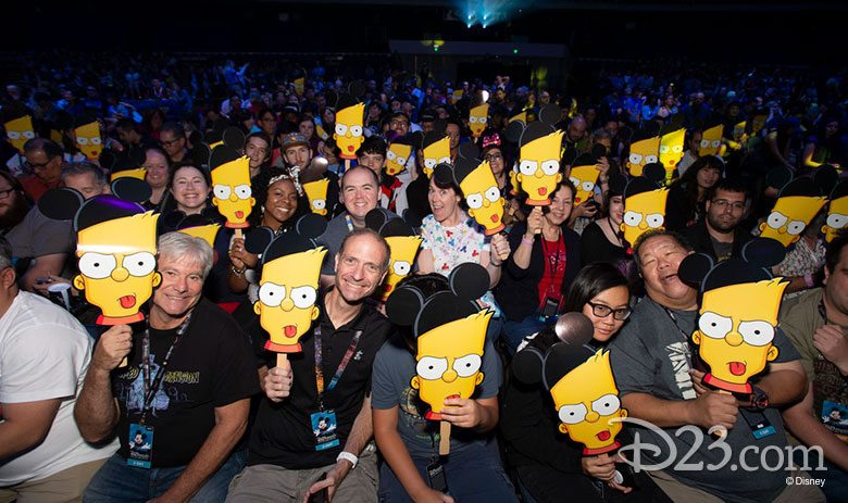 The Simpsons panel D23 Expo 2019