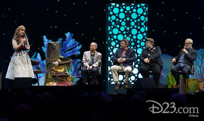 El panel de La Sirenita D23 Expo 2019