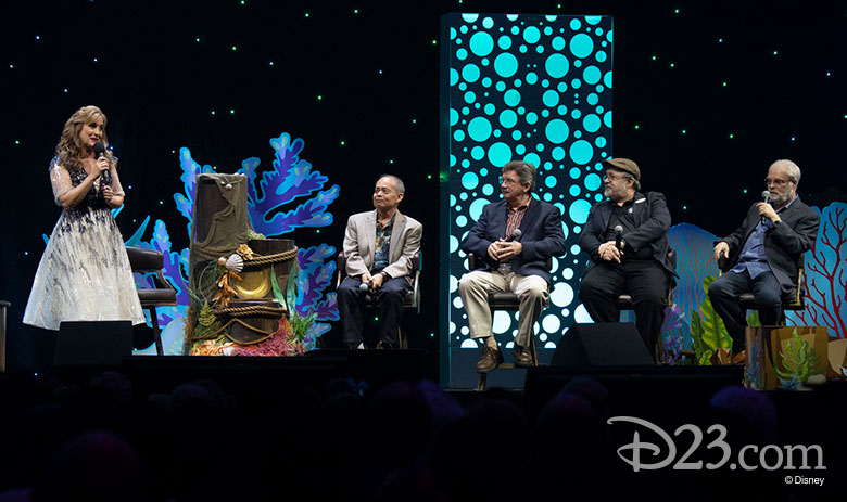 The Little Mermaid panel D23 Expo 2019