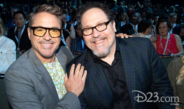 Rober Downey Jr. and Jon Favreau