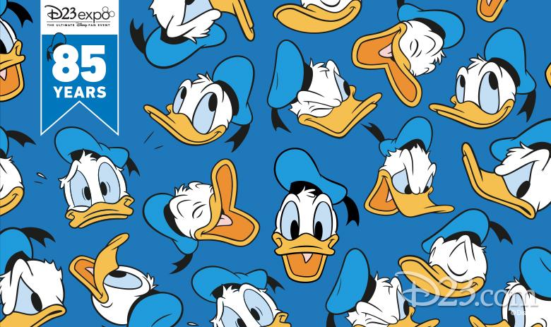 Donald Duck Photo Wall
