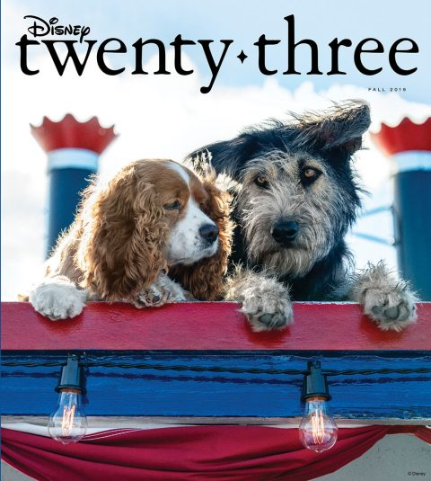 Disney twenty-three Fall 2019 cover
