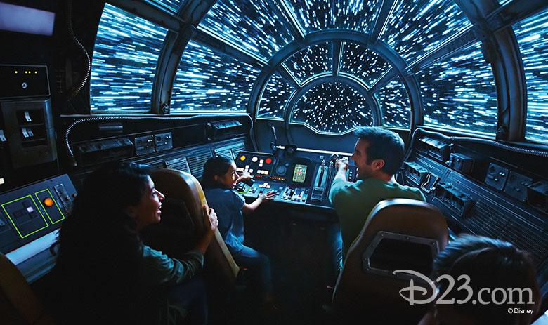 Millenium Falcon at WDW Star Wars: Galaxy's Edge