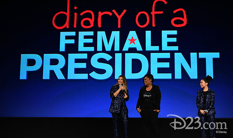 Image result for diary of a female president d23