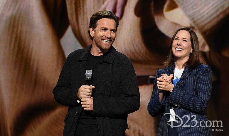 Kathleen Kennedy en Ewan McGregor - D23 Expo: Disney Plus News