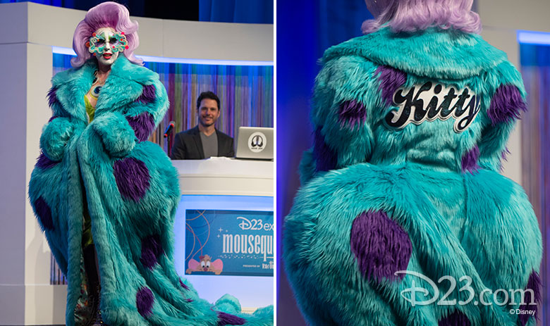 D23 Expo Mousequerade Monsters, Inc.