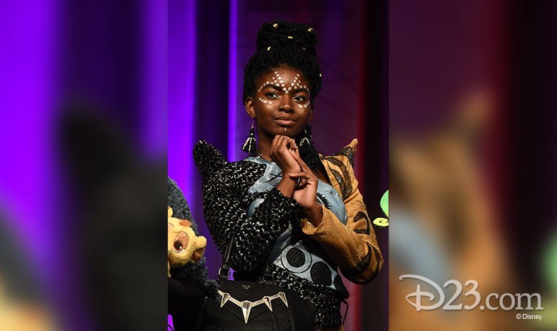 D23 Expo Mousequerade Shuri Black Panther