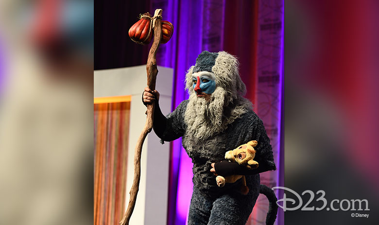D23 Expo Mousequerade Rafiki