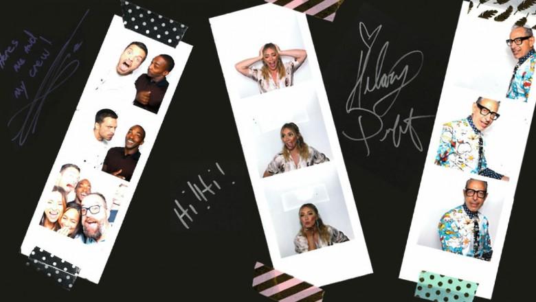 Celebrity Scrapbook Photos