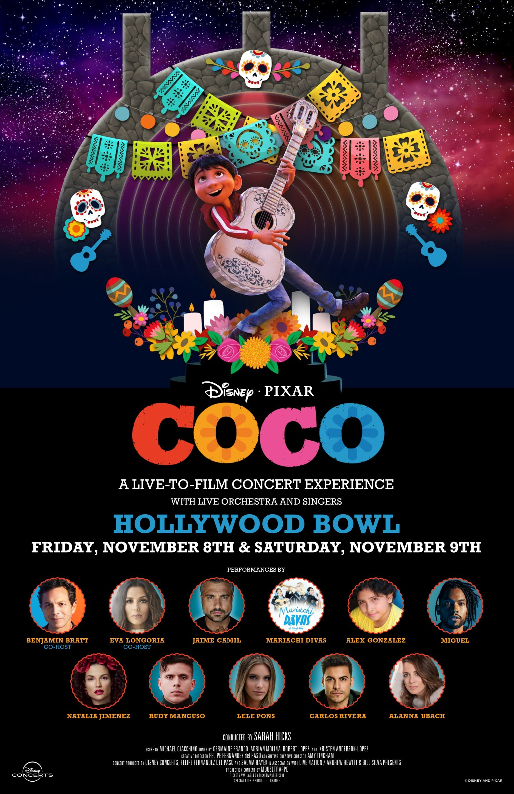 Coco at the Hollywood Bowl Flyer