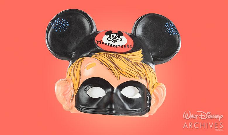 Mouseketeer - Ben Cooper Halloween Mask