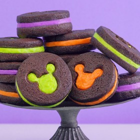 Mickey Halloween Cookies - iris