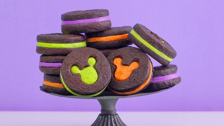 Mickey Halloween Cookies - iris
