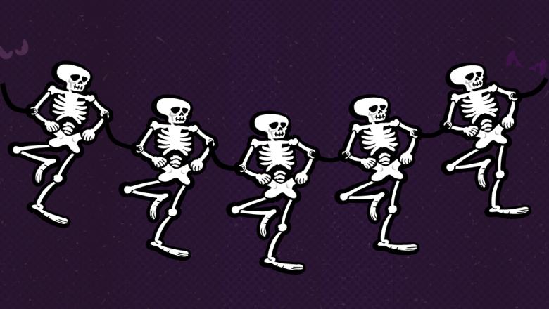Skeleton Gardland - 1
