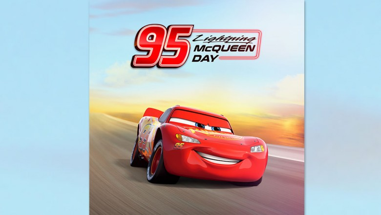 Lightning McQueen Day Hero