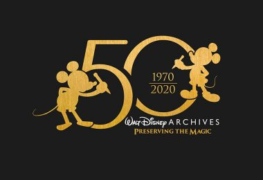 Walt Disney Archives 50th anniversary exhibit