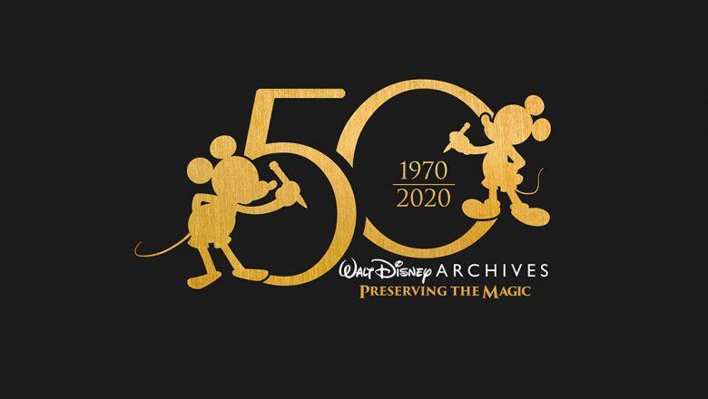 Walt Disney Archives 50th anniversary exhibit