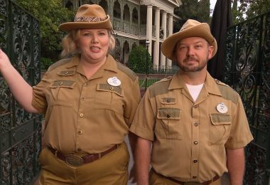 Jungle Cruise Skippers Give Tour of the World-Famous… Haunted Mansion!
