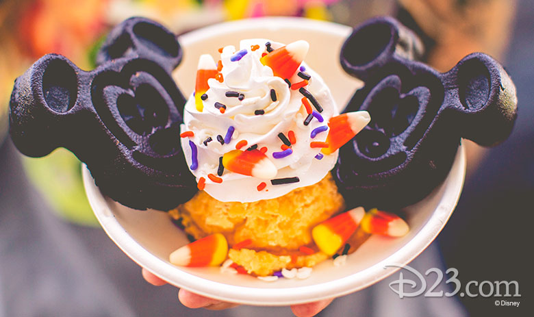 Chocolate Mickey Waffle Sundae—Party Exclusive at Walt Disney World Resort