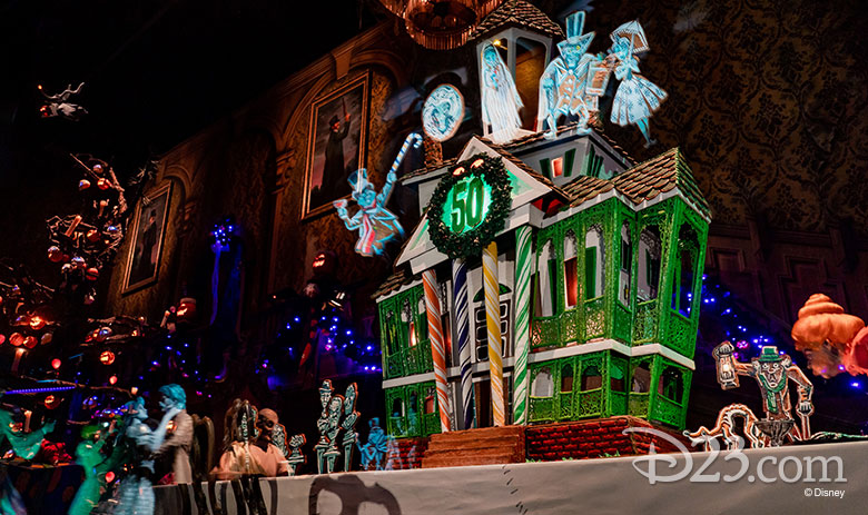 Gingerbread House The Haunted Mansion