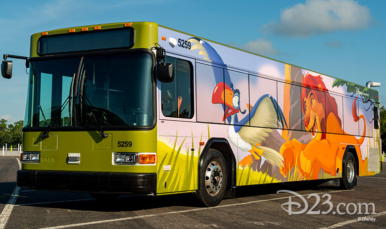 WDW The Lion King Bus