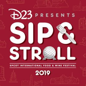 D23's Sip and Stroll at Epcot