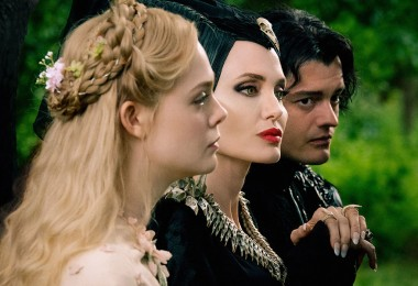 Elle, Angelina, and Sam for Maleficent