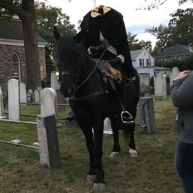 The Headless Horseman Rides with D23 in Sleepy Hollow, NY!