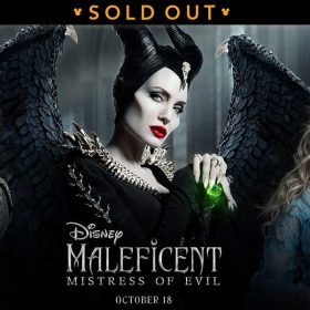 Be Among the First to see Disney's Maleficent: Mistress of Evil!