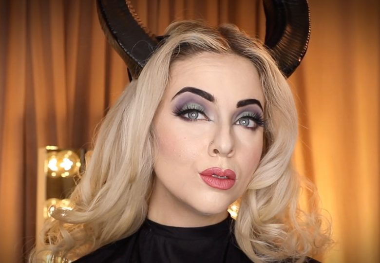 Bring Out Your Inner Maleficent with Bésame Cosmetics | D23 Mostly Ghostly Halloween Special