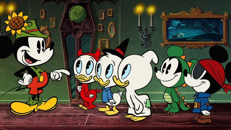 Mickey and Friends - iris