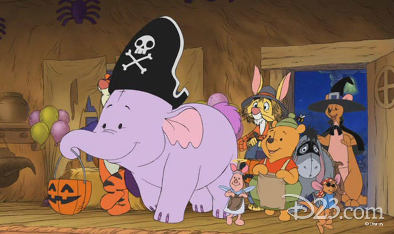 Winnie the Pooh and Friends, Pooh's Heffalump Halloween Movie