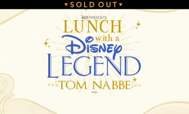 Lunch with a Disney Legend: Tom Nabbe