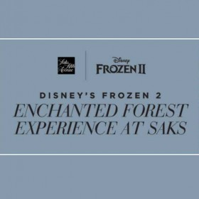 Disney's Frozen 2 Enchanted Forest Experience at Saks – in New York City!