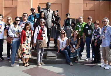 D23 Members Experience Movie Magic at the Walt Disney Studios