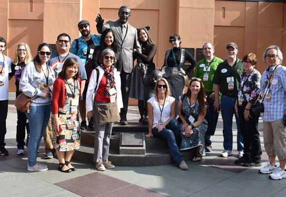 D23 Members Experience Movie Magic at the Walt Disney Studios