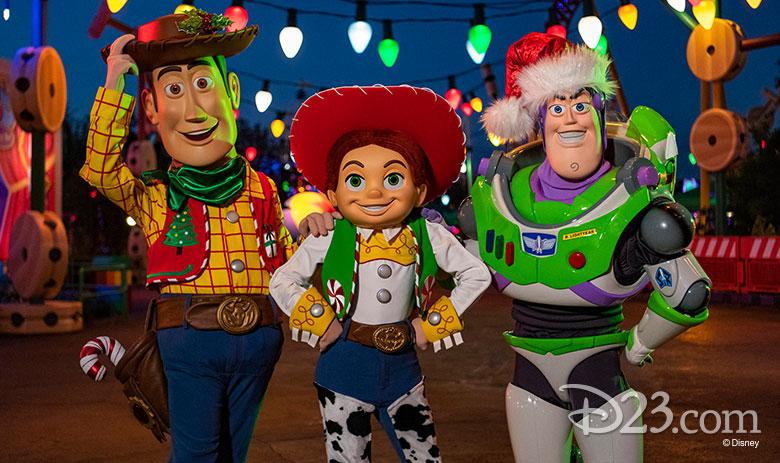 Woody, Jesse, Buzz