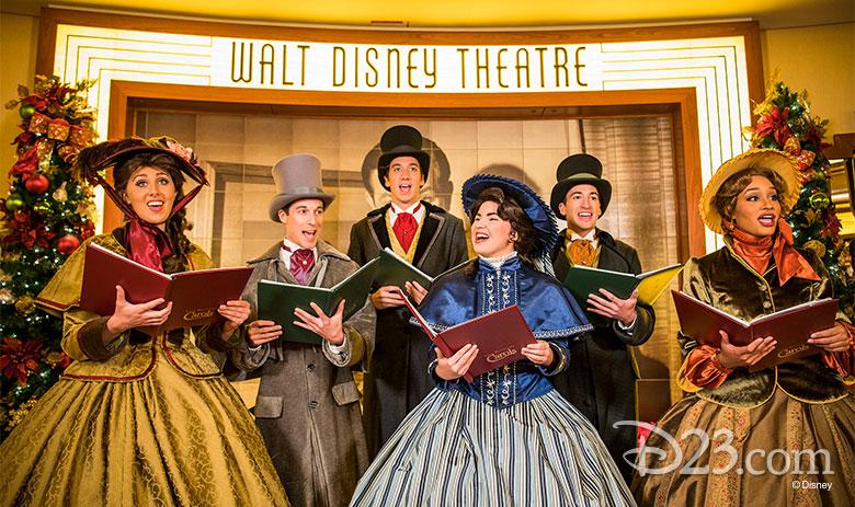 Christmas Carol at Walt Disney Theater
