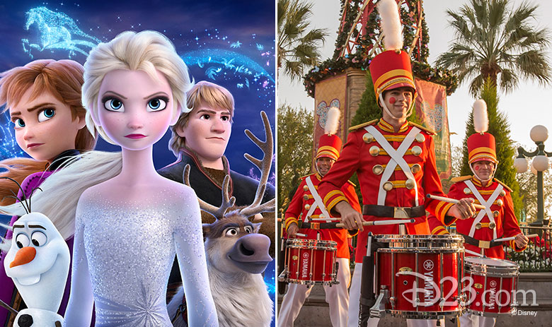 Frozen 2 and holidays at Disney parks